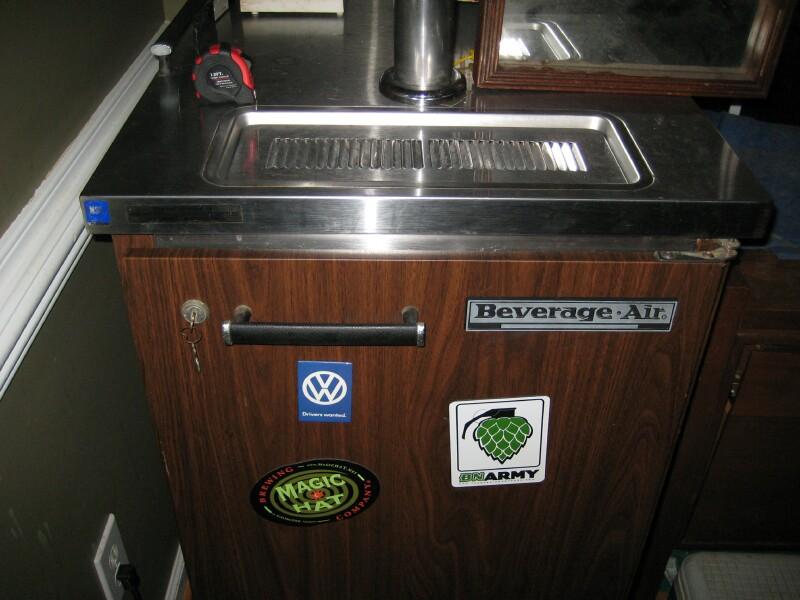 kegerator - Beverage Air Kegerator